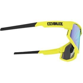 Bliz Vision Glasses matt neon yellow/smoke with blue multi